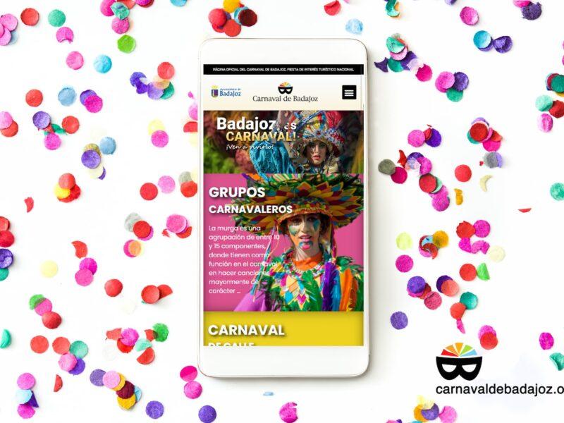 Nueva web del carnaval